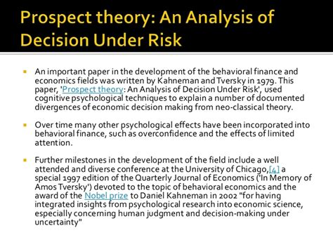 fourfold pattern prospect theory thinking fast and slow