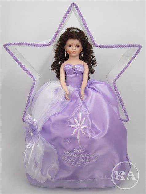 black quinceanera doll heidicollection 21 inch sweet 15 doll lilac