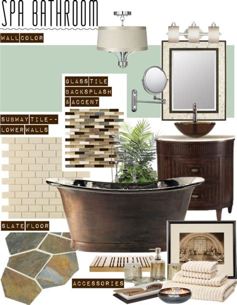 spa bathroom color schemes quot luxury spa bathroom quot by clara bow80 liked on polyvore