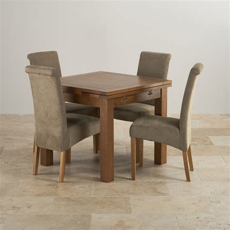 e c i furniture solid oak dining solid oak dining table rustic dining set in real oak extending table 4 sage chairs