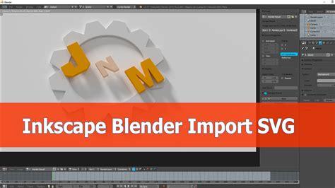 inkscape scripting tutorial import svg from inkscape into blender blendernation