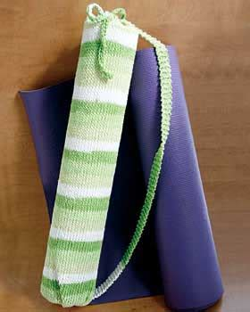 free knitting pattern yoga mat bag yoga mat bag free knitting pattern very simple free