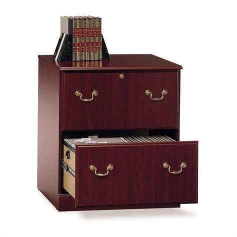 bush saratoga l desk bush saratoga l shape and lateral file set in cherry