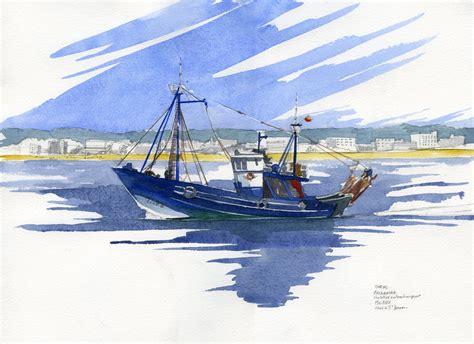 dessin bateau de peche dessin en couleurs 224 imprimer v 233 hicules bateau num 233 ro
