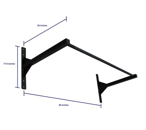 Pull Up Bar Low Ceiling by Pull Up Bar Wall Or Ceiling Mounted