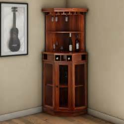 griffin glass door solid wood corner wine bar cabinet