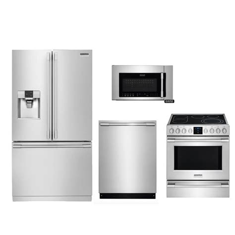 kitchen appliance suites stainless steel kitchen appliances inspiring frigidaire appliance