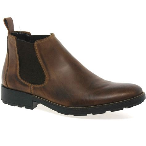 rieker leo men s wide fit leather chelsea boots charles