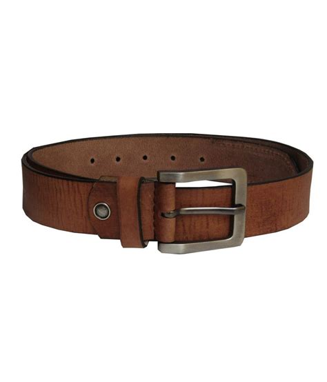 excorio brown designer leather belt for buy at