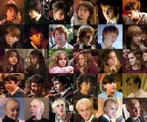 best harry potter characters list of favorite characters evolution of the harry potter characters really funny