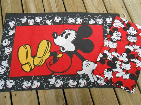 red mickey mouse curtains mickey mouse curtain valance and by perfectmomentpillows