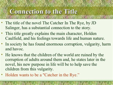 The Catcher In The Rye Essay Topics by Help Writing A Essay Paper Niccol 242 Pandolfini