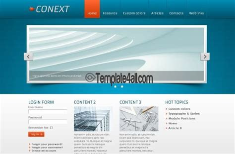 template free jquery templates black maroon business joomla theme
