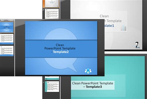 clean powerpoint templates design3edge com