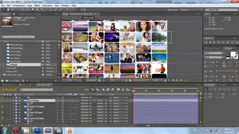 Tutorial Video Wall After Effects | crear y animar un video wall tutorial after effects