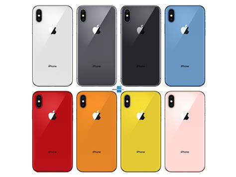 here s all iphone 2018 color options phonearena