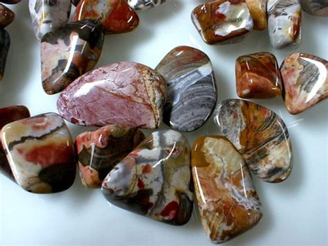 what to do with agates split cut tumble rock