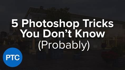 tutorial fotografi ppt 5 photoshop tricks you don t know photoshop tutorials