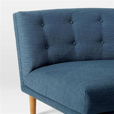 rounded retro curved sofa rounded retro curved sofa west elm