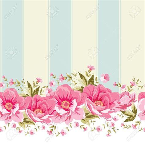 vintage wallpaper craft ornate pink flower border with tile elegant vintage