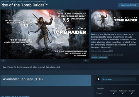 rise of the steam page live now confirms january 2016 release window