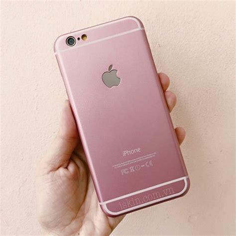 ốp lưng iphone 6 6s m 224 u hồng baby pink đẹp dễ thương iskin store