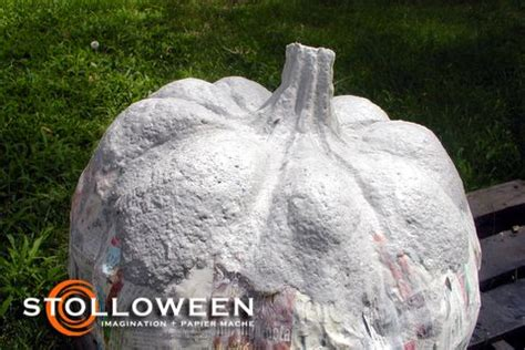 Ingredients To Make Paper Mache - how to make paper mache pumkins check out the quot the