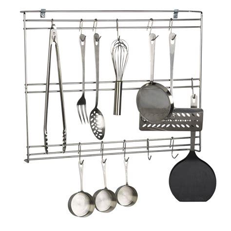 Kitchen Utensil Hooks Stainless Focus Fur1824chss 24 Quot Wall Mount Utensil Rack W 20