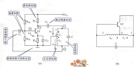inductor oscillator circuit the inductance oscillator circuit of 3 point type signal processing circuit diagram seekic