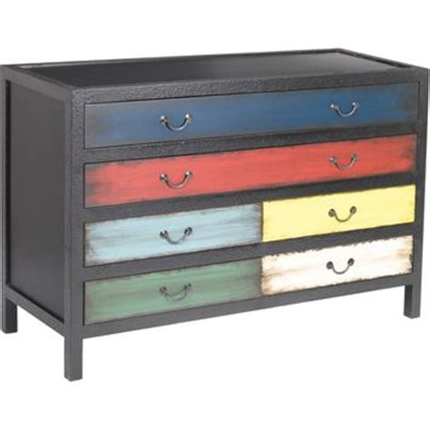 multi coloured painted chest of drawers best painted chest of drawers products on wanelo