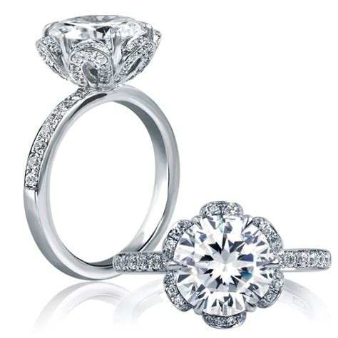 a jaffe engagement rings for every era