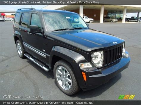 Jeep Liberty 2012 Black Brilliant Black Pearl 2012 Jeep Liberty Sport