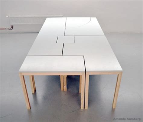 modular dining table 7wonders modular table by swedish designer amanda karsberg