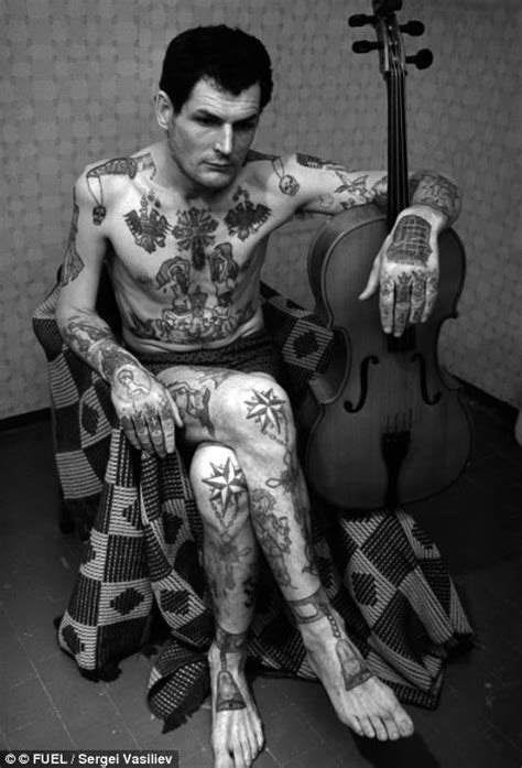 prison tattoo history symbols of a life of crime the fading tattoos on russia s
