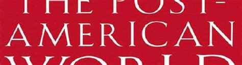 The Post American World By Fareed Zakaria Ebooke Book reading list andrew youderian of ecommercefuel