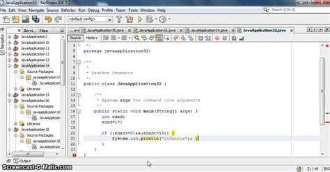 tutorial java se netbeans tutorial para usar el metodo if en netbeans java youtube