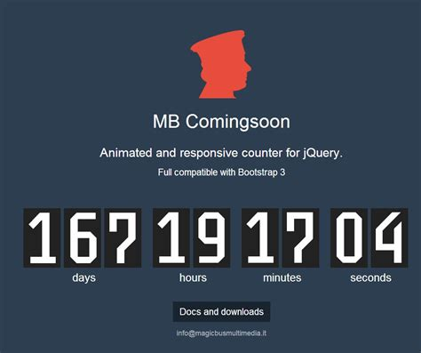 camin soon mb comingsoon time counter jquery plugins