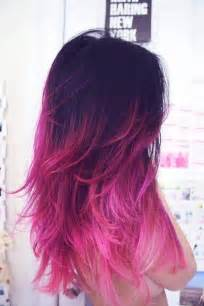 pink hair color ideas ombre pink hair colors ideas