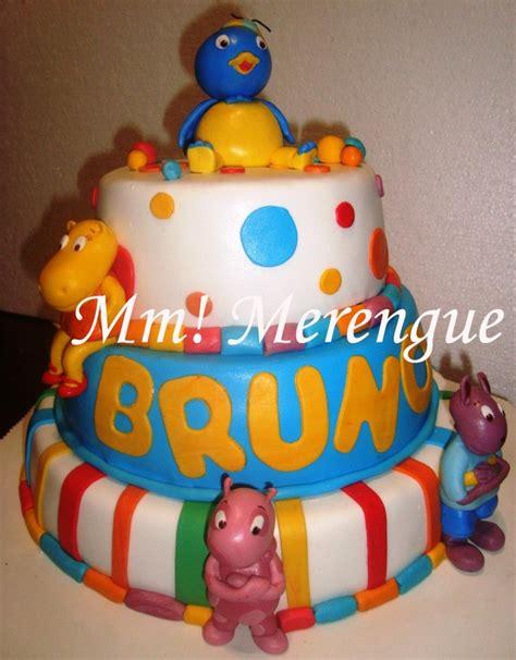 Backyardigans Cake Three Tier Backyardigans Cake Ideas And Designs