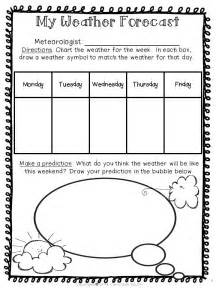 Kids Weather Report Template weather unit weekend weather weather forecast and weather