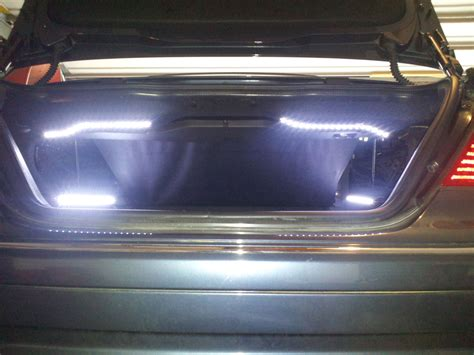 benzbits w209 led trunk lights
