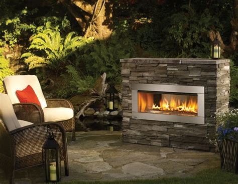 best 25 outdoor gas fireplace ideas on patio