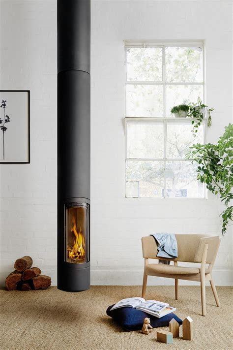 Suspended Fireplace by Slimfocus Suspended Fireplace From Focus Oblica Designer