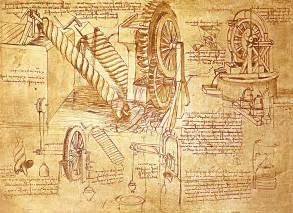 sketch from leonardo davinci s notebook leonardo