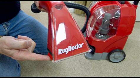 rug doctor stopped working rug doctor portable spot cleaner unboxing demonstration