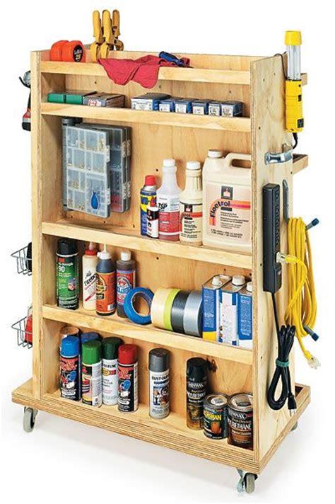 Garage Storage Cart This Led Be Useful In The Craft Room Garage Storage