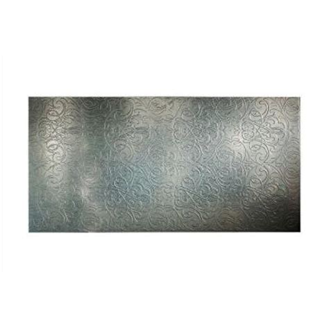 fasade damask 96 in x 48 in decorative wall panel in
