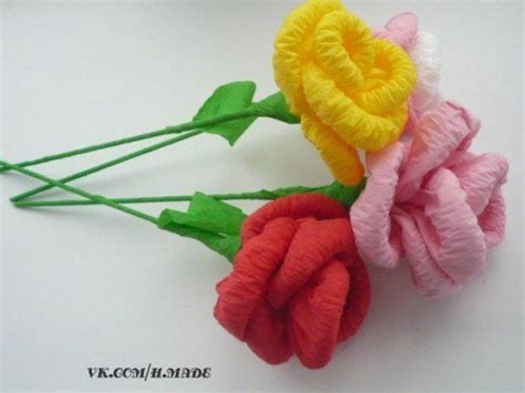 como hacer calas en papel crepe como hacer ramo de rosas con papel crepe 1 manualidades