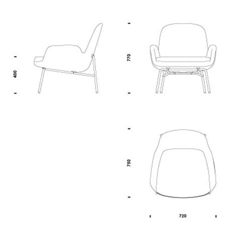 Lounge Chair Cad by 2d 3d Cad Files