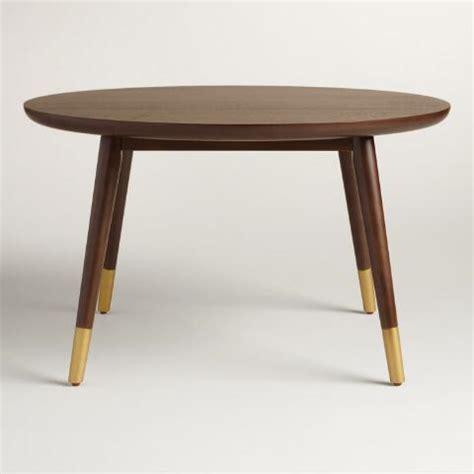 large wood randon coffee table world market